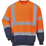 Portwest B306 - Hi-Vis kéttónusú pulóver, narancs