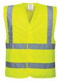 Portwest C470 - Jól láthatósági mellény, sárga