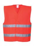 Portwest C474 - Jól láthatósági mellény, piros
