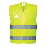 Portwest C475 - Jól láthatósági mellény, sárga