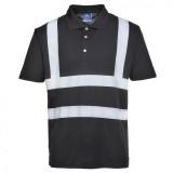 Portwest F477 - Iona teniszpóló, fekete