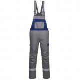 Portwest FR07 - Bizflame Ultra kéttónusú kantáros nadrág, szürke