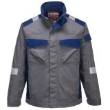 Portwest FR08 - Bizflame Ultra kéttónusú kabát, szürke