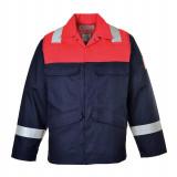 Portwest FR55 - Antisztatikus kéttónusú kabát, tengerészkék