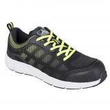 Portwest FT15 - Steelite Tove Trainer védőcipő S1P, fekete/zöld