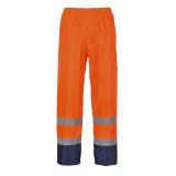 Portwest H444 - Hi-Vis Contrast esőnadrág, narancs/tengerészkék