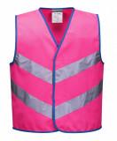 Portwest JN15 - Junior Colour Bright mellény, rózsaszín