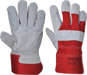 Portwest A220 - Prémium bőrkesztyű, piros termék fő termékképe