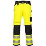 Portwest PW340 - PW3 Hi-Vis nadrág, sárga/tengerészkék