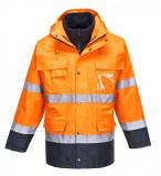 Portwest S162 - Hi-Vis Lite 3 az 1-ben kabát, narancs/tengerészkék