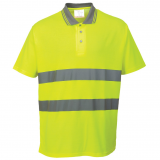 Portwest S171 - Cotton Comfort pólóing, sárga