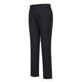 Portwest S232 - Stretch Slim Chino nadrág, fekete