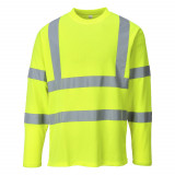 Portwest S278 - Hi-Vis hosszú ujjú pólóing, sárga