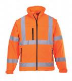 Portwest S428 - Jól láthatósági softshell kabát, narancs