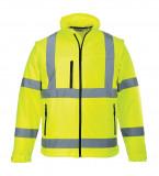 Portwest S428 - Jól láthatósági softshell kabát, sárga