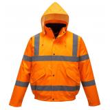 Portwest S463 - Jól láthatósági bomber dzseki, narancs