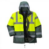 Portwest S466 - Kontraszt Traffic kabát, sárga/zöld
