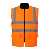 Portwest S469 - Jól láthatósági kifordítható mellény, narancs