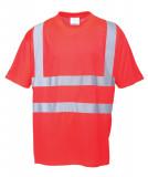 Portwest S478 - Jól láthatósági póló, piros