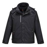 Portwest S553 - Radial 3 az 1-ben kabát, fekete