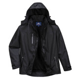 Portwest S555 - Outcoach kabát, fekete