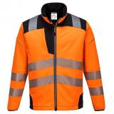 Portwest T402 - PW3 Hi-Vis softshell kabát, narancs/fekete