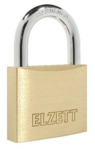ELZETT 2051 Tutor edzett kengyelű hengerzáras lakat, réz, 40 mm termék fő termékképe