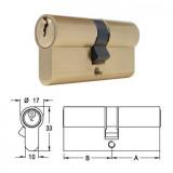 ELZETT 751 sárgaréz hengerzárbetét, 30+30 mm