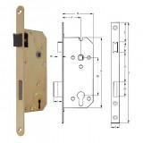 ELZETT VALIDO 7411 profilkulcsos bevésőzár lekerekített előlappal, 90/45 mm