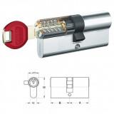 KABA experT matt-nikkel hengerzárbetét, 30+30 mm