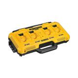 Dewalt DCB104 8 A 4 portos XR  akkumulátor töltő (gyors)