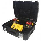 Dewalt DCB118T2T 18/54V 2 x 6.0 Ah XR FLEXVOLT akku csomag TSTAK kofferben