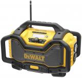 Dewalt DCR027 akkus rádió (beépített töltővel, akku nélkül)