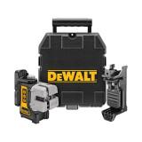 Dewalt DW089KD keresztszálas vonallézer (vízszintes, függőleges, oldalirányú)