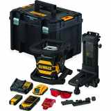Dewalt DCE080D1RS Tool Connect forgólézer, piros