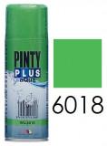 Pinty Plus AQUA vízbázisú festék spray, RAL 6018, 400 ml