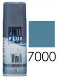 Pinty Plus AQUA vízbázisú festék spray, RAL 7000, 400 ml
