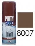 Pinty Plus AQUA vízbázisú festék spray, RAL 8007, 400 ml