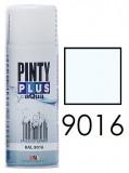 Pinty Plus AQUA vízbázisú festék spray, RAL 9016, 400 ml
