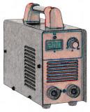 250 A-es bevontelektródás hegesztő inverter kölcsönzés