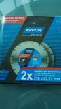 NORTON Promo pack 2x Uni 230x22.23 EU18 Gyémánttárcsák