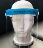 Arcvédő plexi szivacsos homlokvédővel