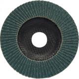 Lamellás csiszolótárcsa  125x22 Z40 - Cirkon-korund minőség, Üvegszálas tányér